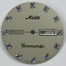 NEW ! ORIGINAL MIDO COMMANDER 8479  DIAL WITH CRYSTAL