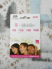 T-Mobile Prepaid $25 Refill Top-Up Prepaid Card