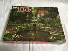 Guild Fountain And Garden In Bloom 1000 Piece Jigsaw Puzzle Hasbro 12+ NEW