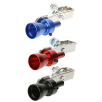 Size S Universal Car Turbo Sound Whistle Muffler Exhaust Pipe Neu