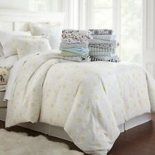 Ultra Soft 3 Piece Patterned Duvet Cover Set Summer Collection by Linen Market