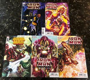 Iron Man 1-5 2020 2021 Big Iron! Arc Christopher Cantwell 1 2 3 4 5 Hellcat