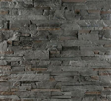 Wandverblender, Wandverkleidung Steinoptik - Highland Gray  - 1 Musterstück