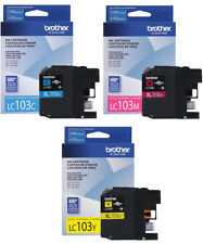 3PK GENUINE Brother LC-103 XL Color Ink Cartridge for MFC-J4410DW MFC-J4510DW