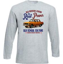 Vintage Ruso Coche Moskvich 2140-Nuevo Algodón Camiseta
