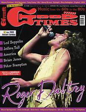 GoodTimes 4-2019 Roger Daltrey, Led zeppelin, Brian Jones, Peter Frampton, Wir