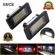 2x LED Kennzeichen Beleuchtung Nummernschildbeleuchtung BMW E39 E84 E82 E63 E90