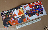 1980s Promo Giveaway Cut-Out Kit. Bass Beer. Sentinel Steam Wagon