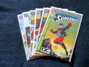 Lot of 6 Superboy #1, #3, #4, #5, #6 & #7 (DC 1994)