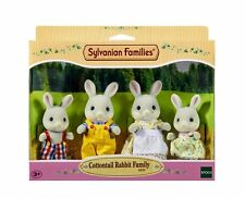 Sylvanian Families - Cottontail Rabbit Family Set - Brand New