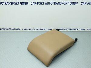 Opel Vectra C / Signum - original Leder Armlehne / Mittelarmlehne Deckel beige
