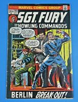 SGT FURY And His HOWLING COMMANDOS #108 COMIC BOOK ~ Marvel BRONZE AGE ~ VG/FN