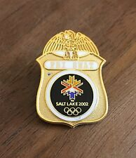 FBI SWAT Logo Mini-Badge Salt Lake City 2002 Olympic Pin