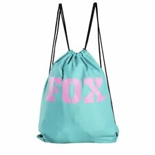 FOX Vapors Cinch Sack - Teal Gym Bag 13559-176 *OFFICIAL STOCKIST **FREE HARIBO