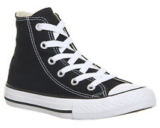 Converse All Star Hi Mid Black White UK 12 EU 30 CH11 26