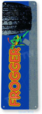 Frogger Arcade Sign, Classic Arcade Game Marquee, Game Room Tin Sign B062
