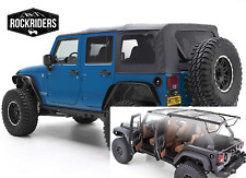 Factory Style Complete Soft Top with Hardware fits 07-18 Jeep Wrangler Unlimited