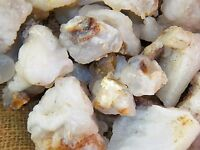 3000 Carat Lots of White Fire Agate Rough - Plus a FREE Faceted Gemstone