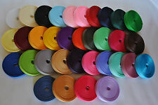 "wholesale 3/8"" GROSGRAIN ribbon lot solid-  330  yards (hair bow,scrap booking)"