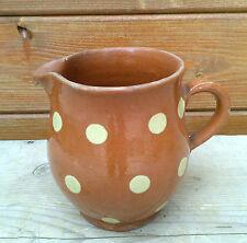 Ancien petit  pot ou vase en terre vernissé, art déco, très bel objet.