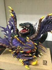 Unpainted GODZILLA VS Megaguirus Resin model kit Gamera monster ultraman