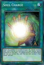 Soul Charge SDCL-EN024 Common Yu-Gi-Oh Card 1st Edition