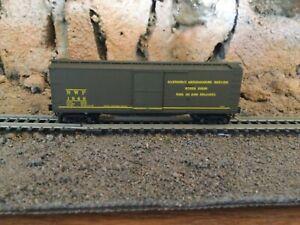 N Scale Micro trains 40' wood side boxcar NWP NORTHWESTERN PACIFIC NIB