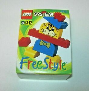 Lego System Free Style 1836 Nuevo Figura Gato Año 1995