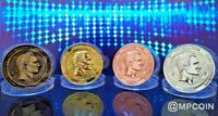 Bolivar bitCoin Full Set Physical Cryptocurrency