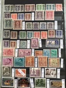 Inde 1950/70 Collection Sur Pages D'album Neufs **/obl Cote +++++