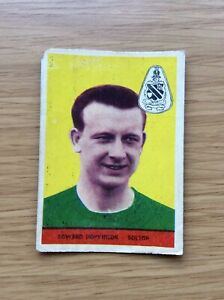 A&BC #69 EDWARD (EDDIE) HOPKINSON  BOLTON FOOTBALL WITHOUT PLANET 1958 CARD