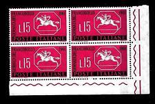 ITALIA REP. - 1961 - 3ª giornata del francobollo - 15 L. - Cavallino sardo. Tag