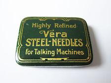Grammophon NADELDOSE VERA STEEL-NEEDLES gramophone needle tin