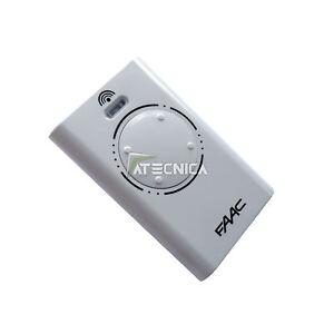 Télécommande  FAAC XT4 868 Mhz SLH LR 4 canaux 787010 pour automatisme portail