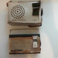 """Emerson Model 911 """"Eldorado"""" AM 9-Transistor Radio, Circa 1960"""