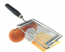 Tomato Slicer Cheese Egg Chopper Cutter Stainless Steel Gadget Fruit Tool New