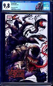 Venom #25 CGC 9.8 TYLER KIRKHAM VARIANT Unknown Comics WHITE COVER NM/MT