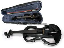 CARLO ELECTRIC VIOLIN PACK 4/4 FULL SIZE *w/ Case, Bow, Headphones, Rosin* NEW!
