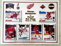 Detroit Red Wings 1992 Upper Deck Collectors Sheet SGA KONSTANTINOV Young Guns
