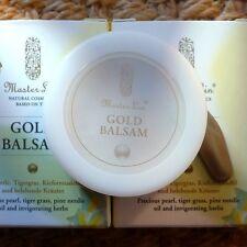 Master Lin Gold Balsam 18g TCM-basierte Energiecreme: Narben, Stress, Müdigkeit+