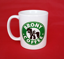 My Little Pony MLP Brony Bronie Starbucks Inspired Coffee Mug 10oz