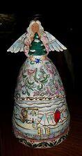 "Jim Shore Angel Winter Figurine ""Landscape Sleeps"" #117677 Nwt!"