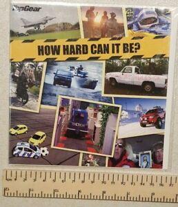 Top Gear Greeting or Birthday Card Petrol Head BBC Fan The Stig Clarkson Funny 1