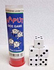 KOPLOW'S *KAPUT* DICE GAME - 5 DICE & INSTRUCTIONS FOR FOUR GAMES>>HORSE, BUCK +