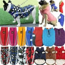 Waterproof Small Medium Large Dog Coats Jacket Pet Winter Warm Vest Jumpers New