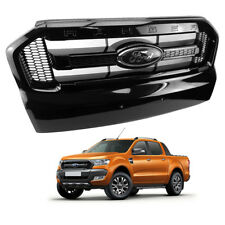 Front Grill Grille Black Trim Fx4 Genuine For Ford Ranger T6 Pickup 15 2016 2017