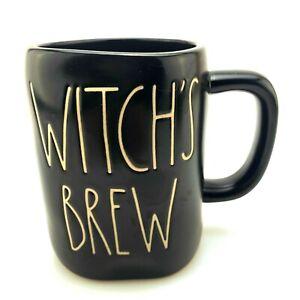 Witch's Brew Coffee Tea Mug | Rae Dunn Magenta 2018 | Black Matte | Magick NEW