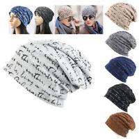 46781a3d957 Unisex Men Women Beanie Hat Cotton Warm Slouchy Baggy Cap Head Ski Hip Hop  Cap