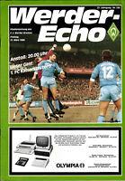 BL 85/86 SV Werder Bremen - 1. FC Kaiserslautern, 21.03.1986