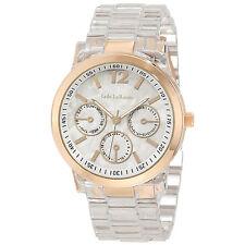 Ladies Boyfriend Bracelet Watch Chunky Large Face Gold Bezel Reloj Pulsera Mujer